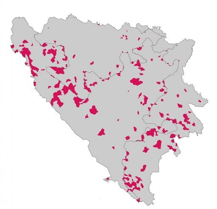 Više od 800 mjesta u BiH bez ijednog djeteta W873