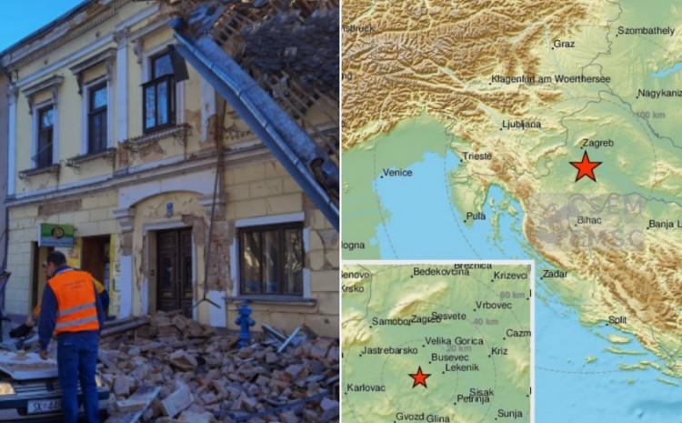 Zemljotres u Petrinji