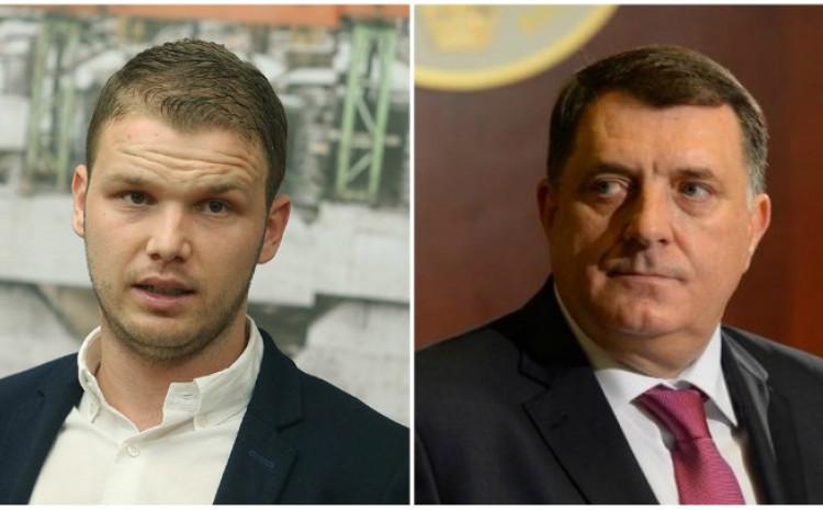 Drašku Stanivuković i Milorad Dodik