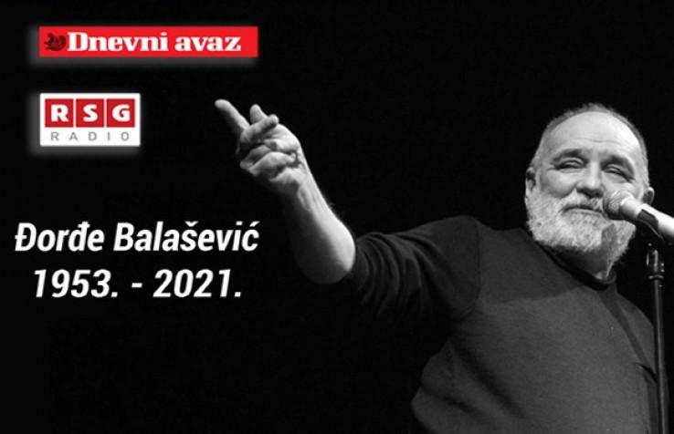 Mini-koncert na Skenderiji posvećen Đorđu Balaševiću