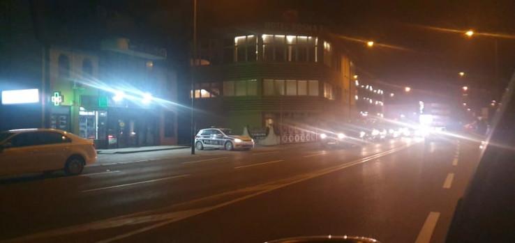 """Policija ispred restorana """"Bosna"""""""