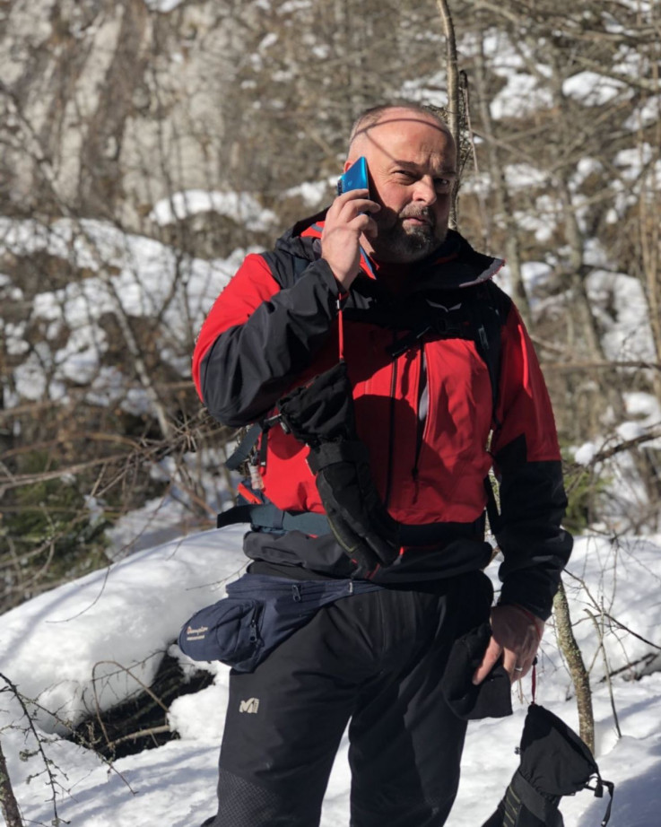 Dženadin Veladžić, predsjednik Gorske službe spašavanja Federacije BiH, bio je na licu mjesta