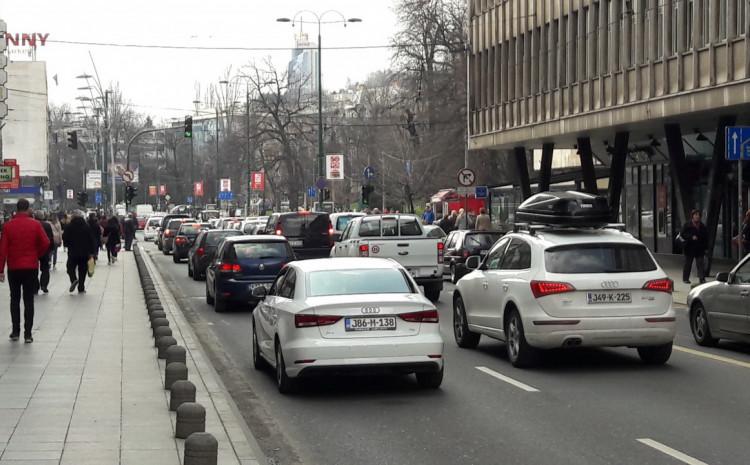 Na području Sarajevskog kantona registrirano 67.020 vozila