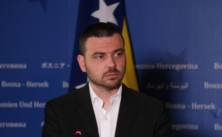 Member of the Parliamentary Assembly of Bosnia and Herzegovina Saša Magazinović