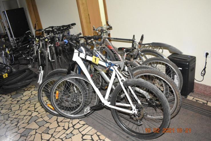 Ukrao 20 bicikala