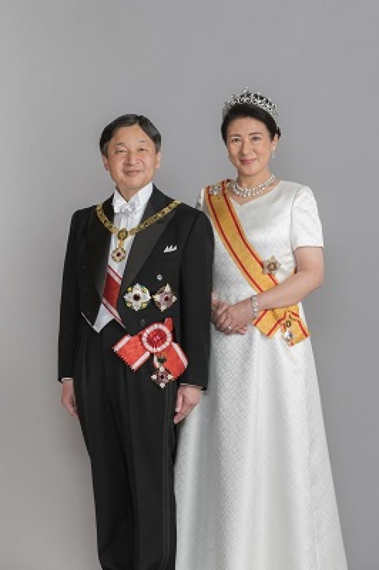Japanski car Naruhito sa suprugom, caricom Masako