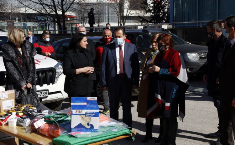 The equipment was handed over to the B&H Border Police, the FB&H Civil Protection Administration, the RS Civil Protection Administration, the B&H Mountain Rescue Service, and the Brčko District Public Safety Department