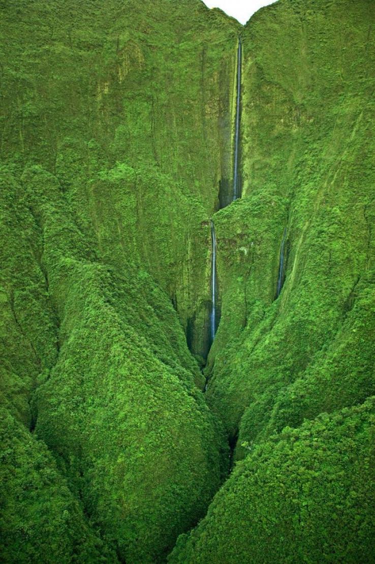 Honokohau vodopad