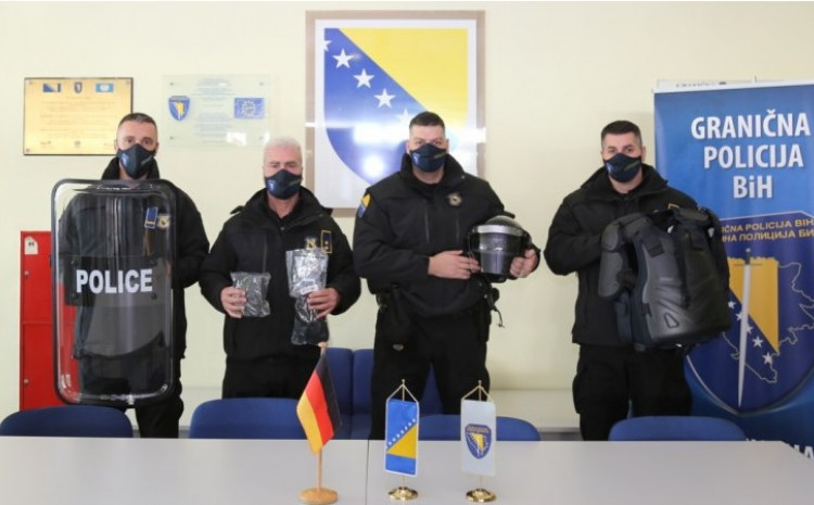 So far, numerous activities have been carried out with the support of the Federal Police of Germany and various types of equipment have been donated with the aim of operational strengthening of the Border Police