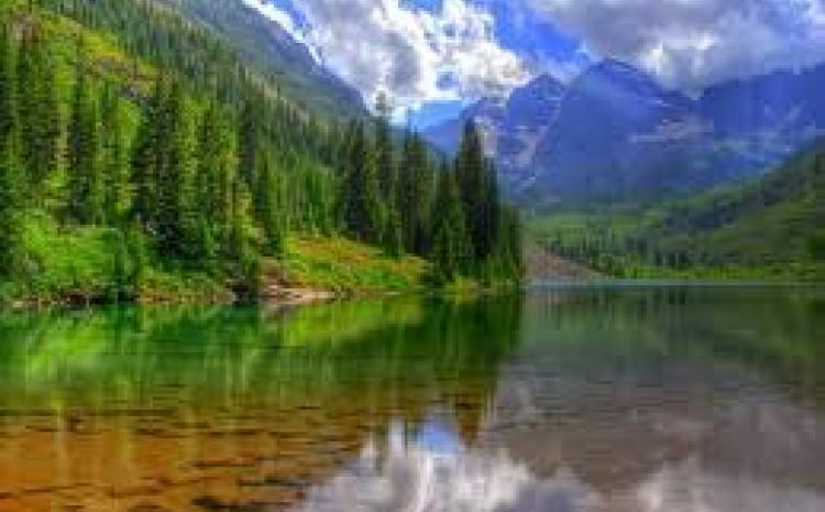 Jezero u šumi, Rusija