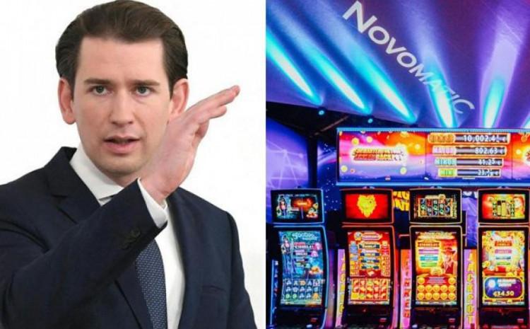 Sebastian Kurz i casino Novomatica