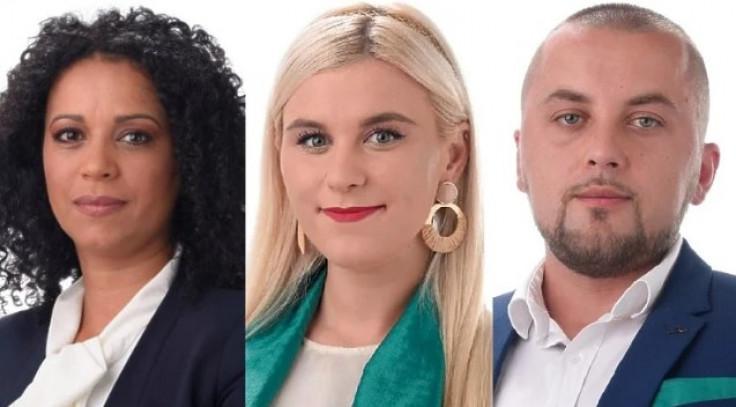 Lejla Khattab, Lajla Ćosović i Miralem Šenderović