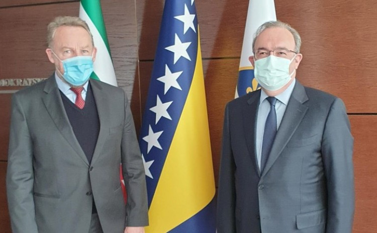 Bakir Izetbegović and Haldun Koc