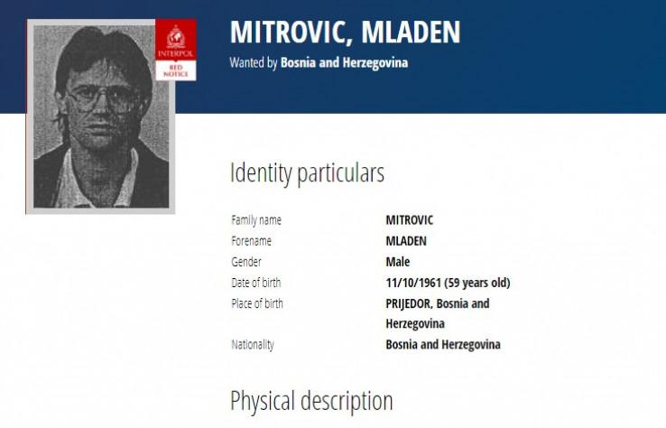Mitrović: Nalazi se u SAD