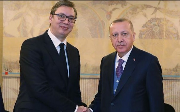 Vučić i Erdoan: Telefonski razgovor
