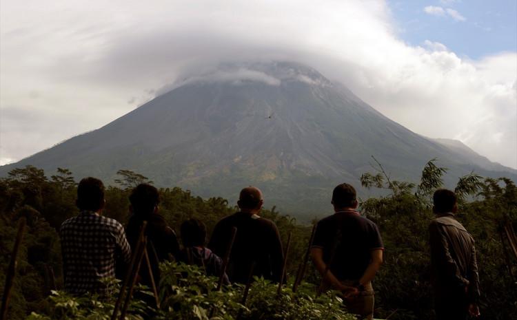 Vulkan se nalazi na otoku Javi