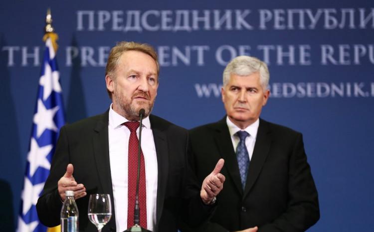Izetbegović i Čović: Dug je put do dogovora