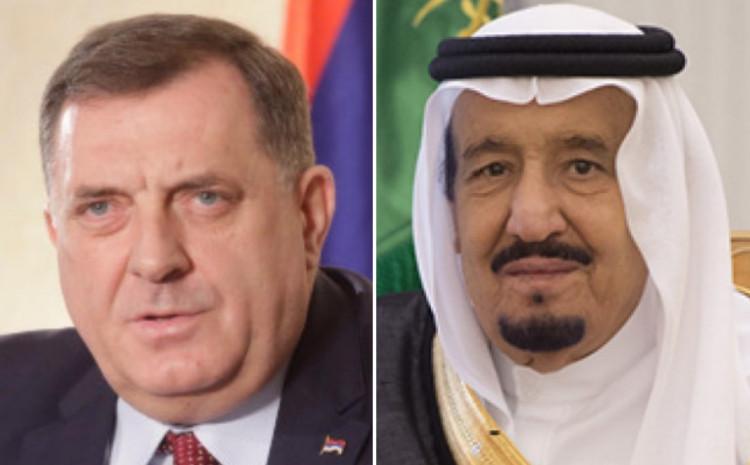 Milorad Dodik i Kralj Saudijske Arabije Salman