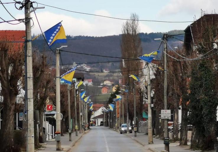 Okićene ulice Kozarca