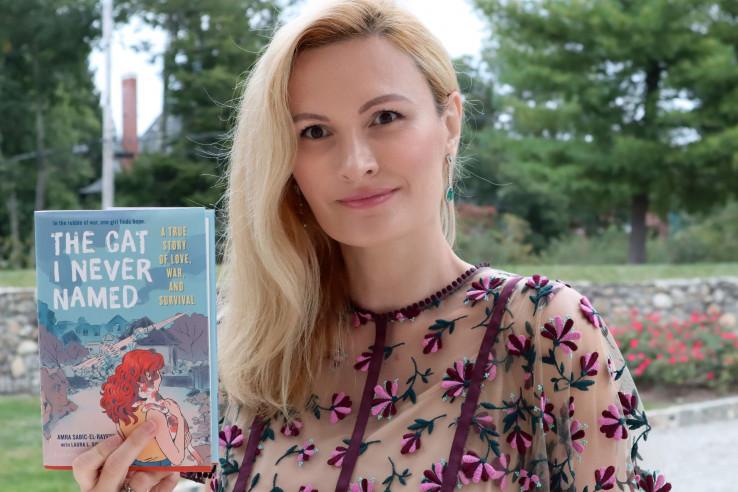"""Šabić-el-Rejes: Autorica knjige """"Mačka kojoj nikad nisam dala ime"""""""
