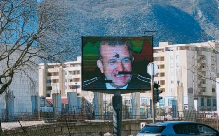 U Mostaru razbijen displej