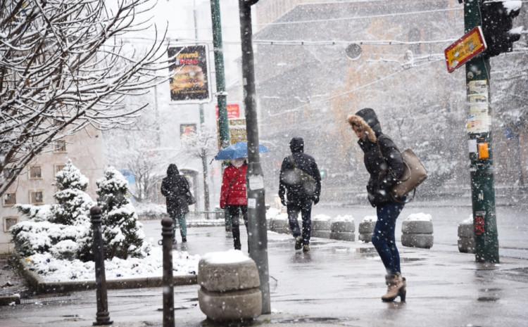 Očekuje se snijeg i susnježica