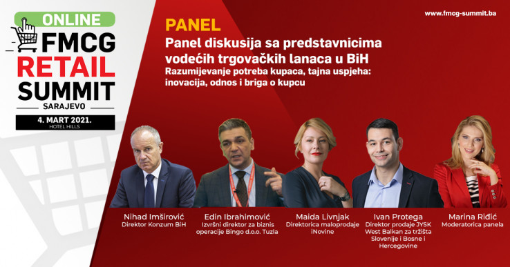 Panel diskusija sa predstavnicima vodećih trgovačkih lanaca u BiH