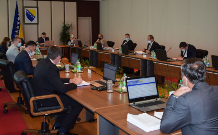 Vijeće ministara BiH bi trebalo razmatrati i Informaciju o korištenju TAIEX instrumenta pomoći Evropske unije