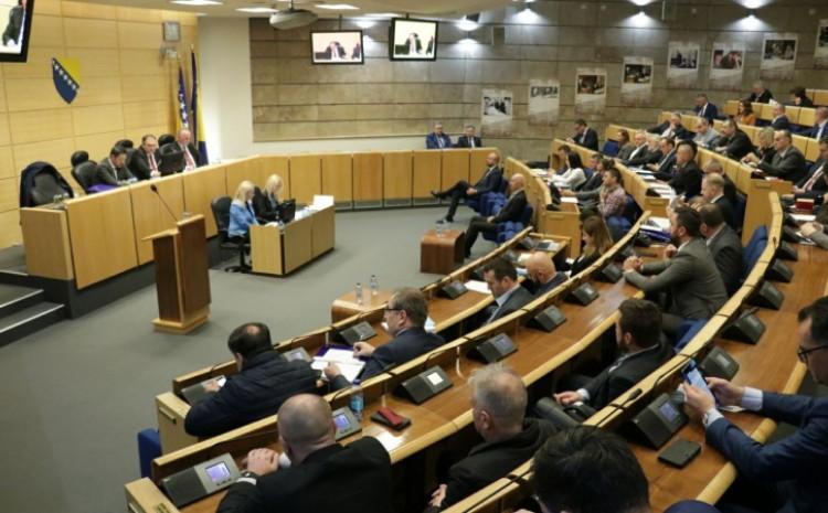 Prvi dio sjednice održan 18. februara