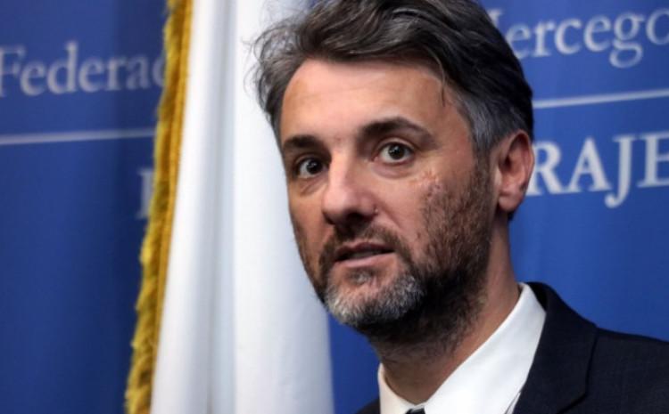 Premijer Kantona Sarajevo Edin Forto