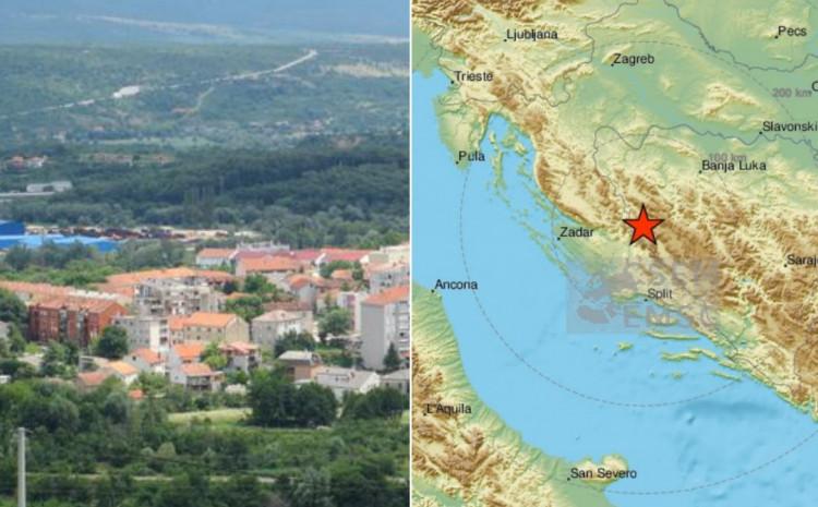 Potres je imao epientar kod Bosanskog Grahova