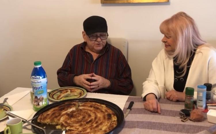 Abdulah Sidran i Hanka Paldum