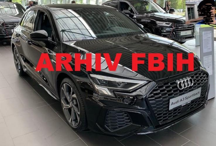 Vozilo u vlasništvu Arhiva FBiH