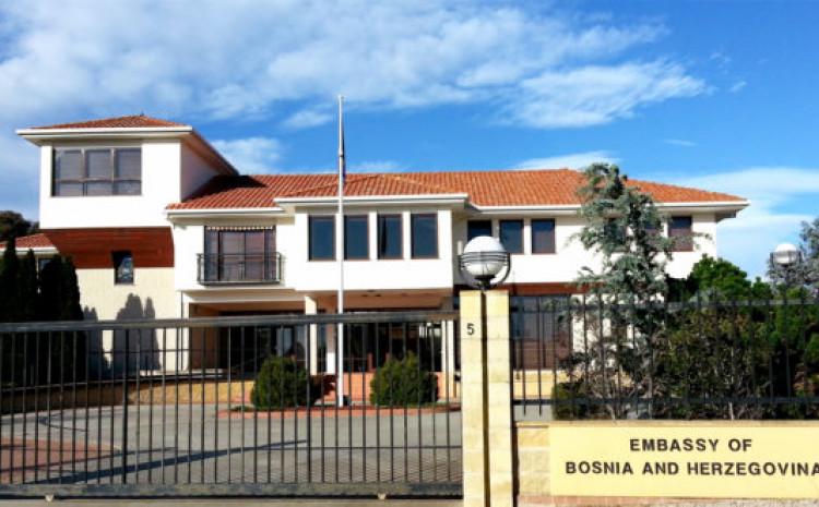 Ambasada BiH u Australiji: Diplomatima hiljade KM iz budžeta