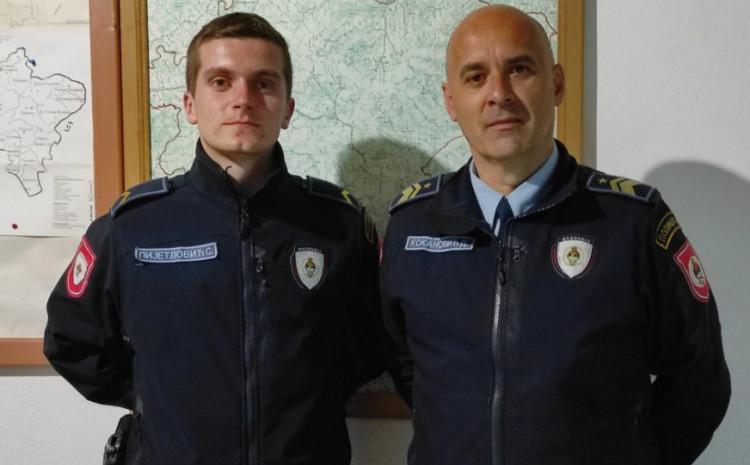 Policajci koji su spasili mladića