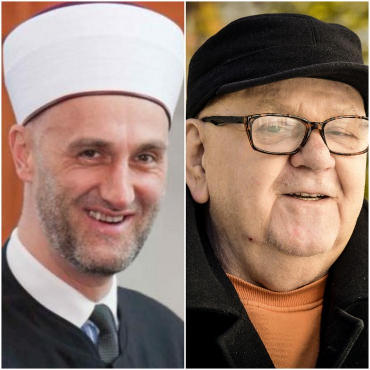 Ef. Velić i akademik Sidran