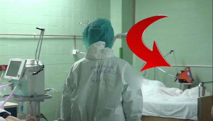 Respiratori Srebrene maline se vide na snimku tokom obilaska dr. Izetbegović