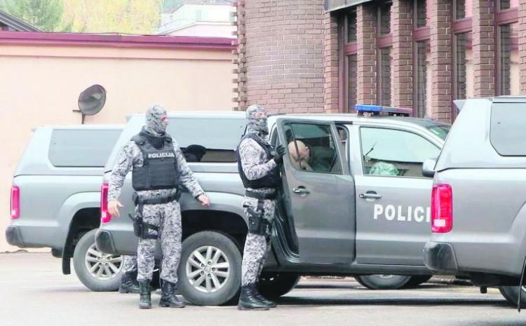 Specijalci pohapsili osumnjičene