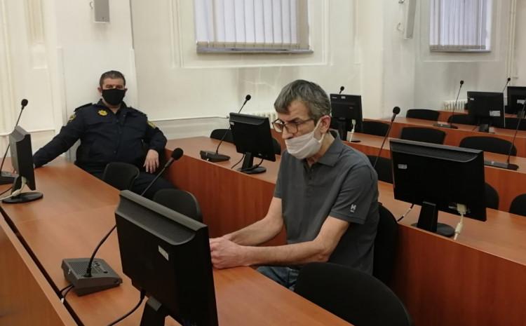 Basarić na suđenju u Kantonalnom sudu Sarajevo