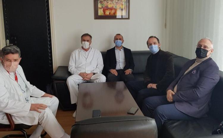 Sa sastanka u Općoj bolnici: Gavrankapetanović, Drljević i Vranić s doktorima iz Turske
