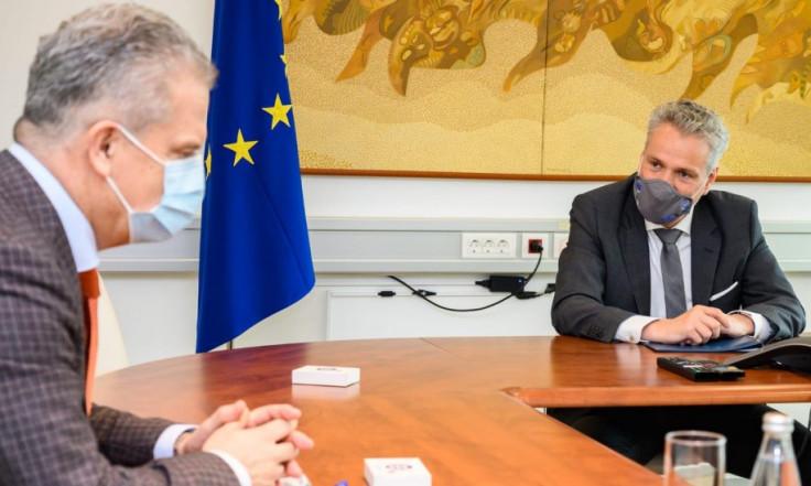 Sa sastanka Radončića i Satlera