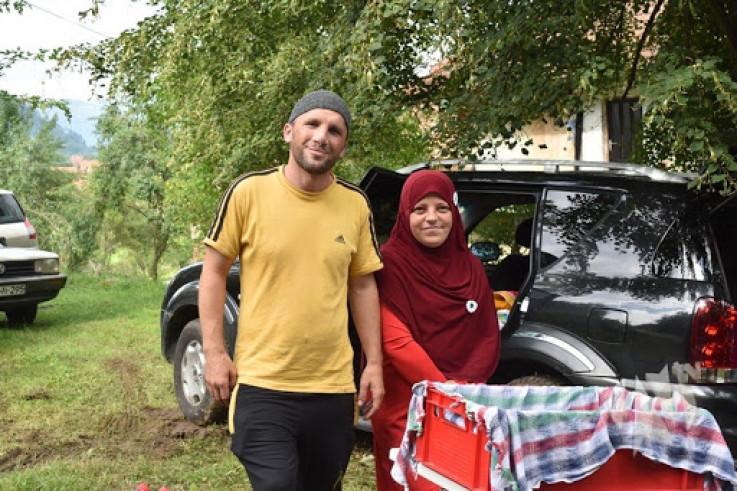 Alajmović sa suprugom Zehrom