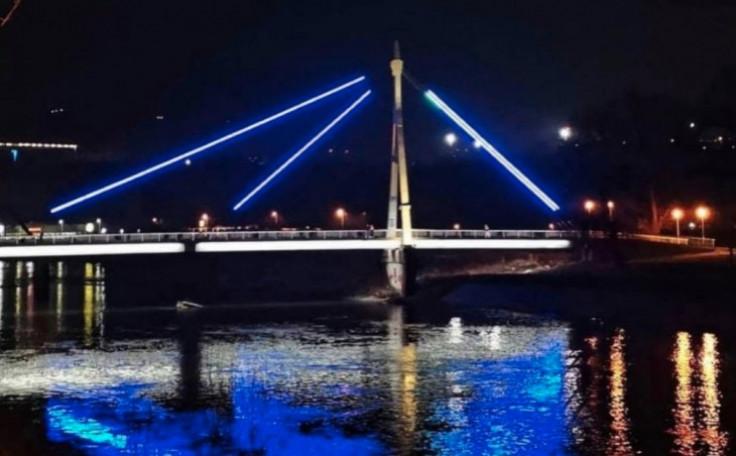 Most kod kojeg je dijete palo u rijeku