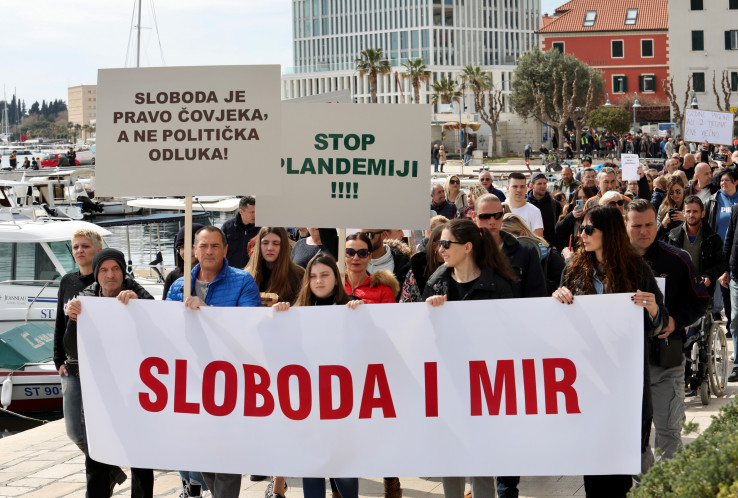 Nezadovoljstvo i u Splitu