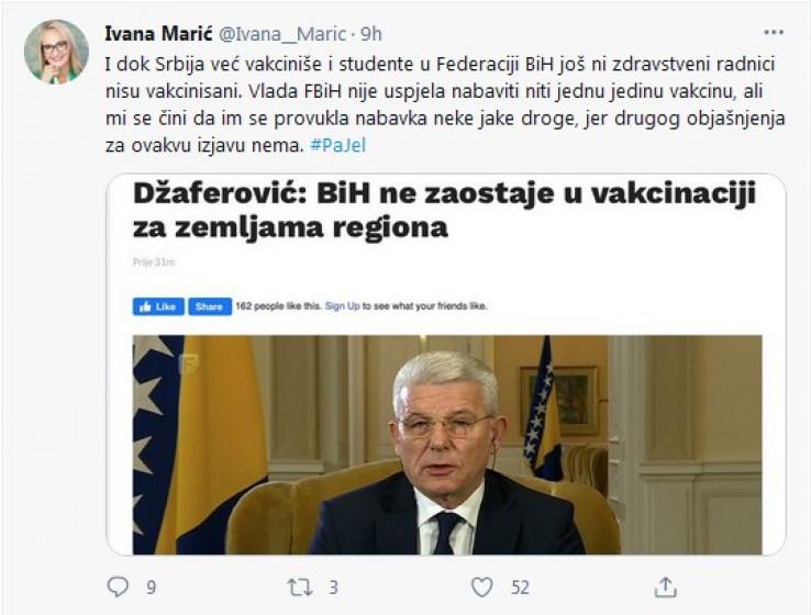 Status Ivane Marić