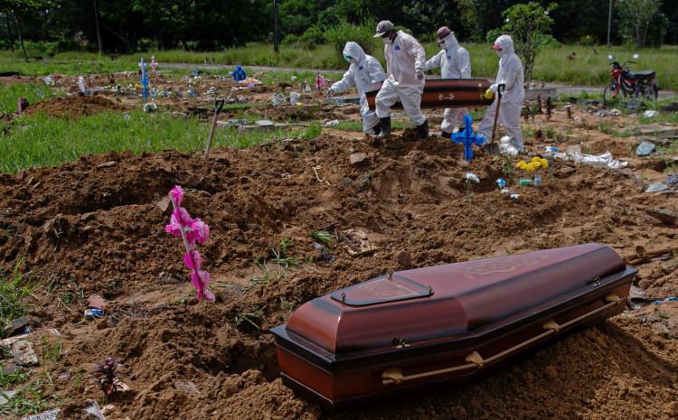 Zemlja od 212 miliina ima 298.676 umrlih na 12,1 miliona inficiranih