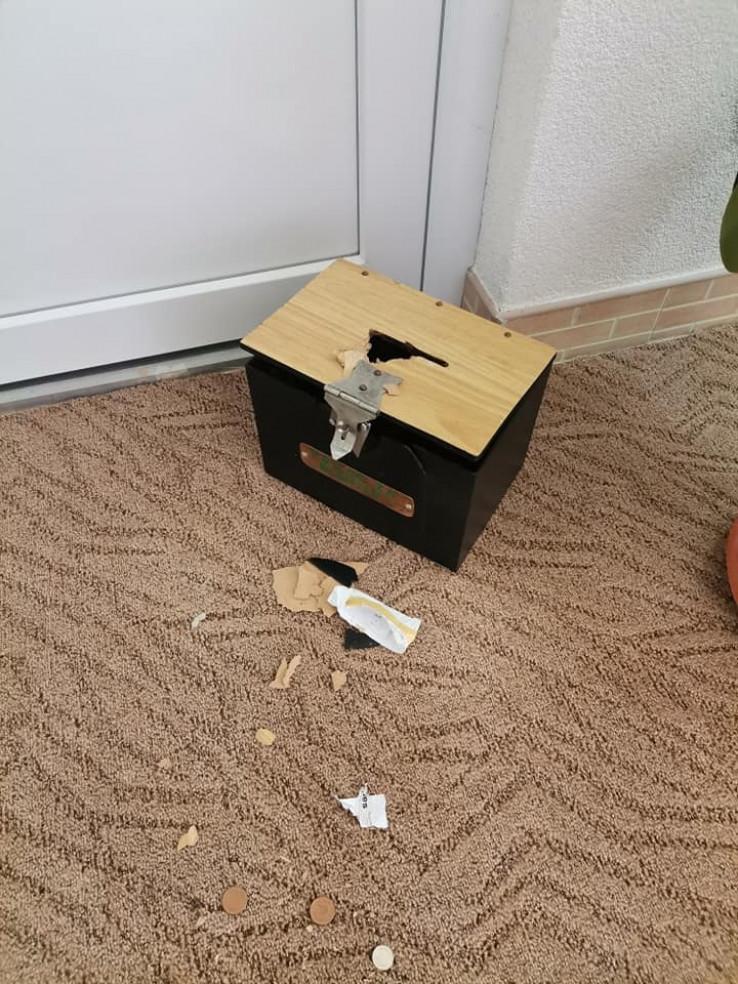 Kutija u kojoj je bio novac