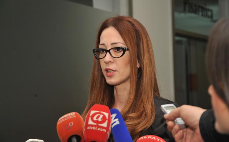 Kurspahić-Nadarević: Uputila zahtjev da ne učestvuje u predmetima protiv Debevca i Tadić