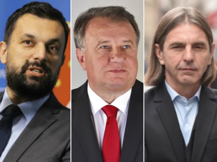 Konaković, Nikšić, Kojović: Neko je imao figu u džepu