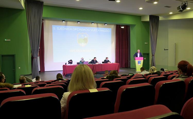 Na 5. sjednici OV Hadžići usvojen je Budžet za 2021. godinu